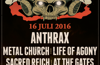 Final line-up for DYNAMO METAL FEST 2016