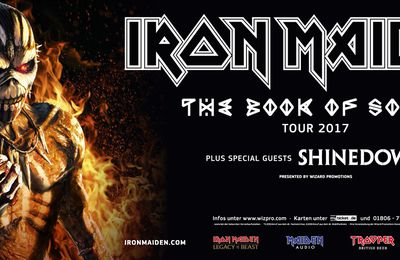 "IRON MAIDEN continues ""Book of Souls tour"" also in 2017"