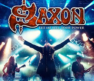 "DVD review SAXON ""Let Me Feel Your Power"""