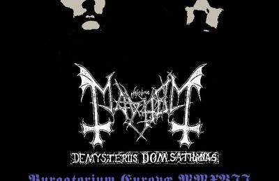 MAYHEM bring De Mysteriis Dom Sathanas to Europe