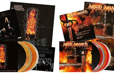 Metal Blade reissues the 1st two AMON AMARTH records on vinyl