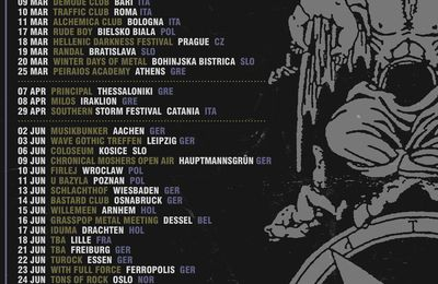 ROTTING CHRIST European tour dates