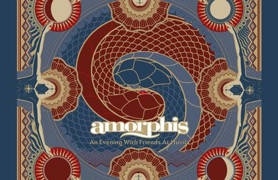 "CD review AMORPHIS ""Under the Red Cloud - An Evening With Friends @ Juhlaviiko – Huvila"""