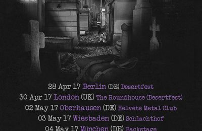 SAINT VITUS - European tor dates