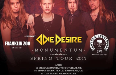 European spring tour dates - ECLIPSE