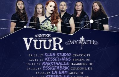 EPICA announces shows in Europe with VUUR and MYRATH as support