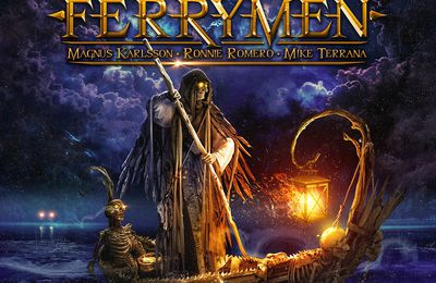 THE FERRYMAN - Magnus Karlsson, Mike Terrana and Ronnie Romero