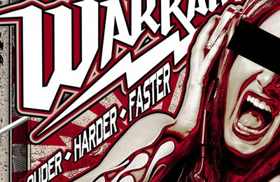 "CD review WARRANT ""Louder Harder Faster """