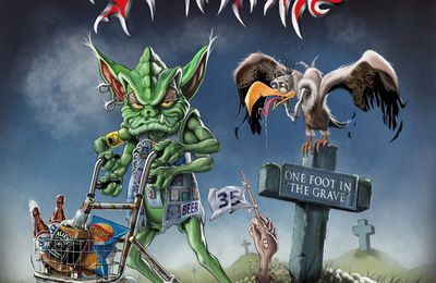 "CD review TANKARD ""One Foot in the Grave"""
