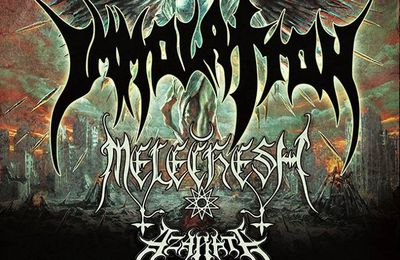 IMMOLATION tour dates for Europe