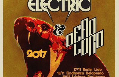 IMPERIAL STATE ELECTRIC / DEAD LORD - tour dates for Europe