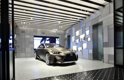 The Lexus Group Enthusiast Open Luxury Stores In NYC, Tokyo, Dubai