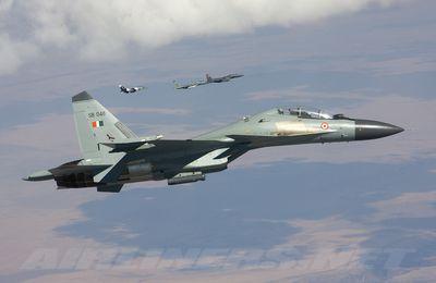 Les HUD des Su-30 indiens s'éteignent en vol