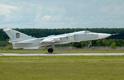 Un Su-24 s'écrase en Ukraine