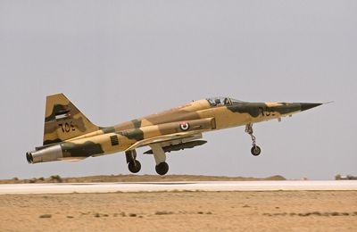 Un F-5E Tiger II s'écrase en Jordanie
