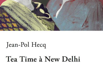 Tea Time à New Delhi de Jean-Pol Hecq