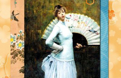 L'éventail représenté en peinture
