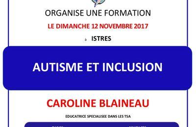 Formation : Autisme et Inclusion le 12 Novembre 2017