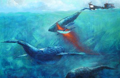 Exposition yvon le corre rochefort ivres de mer for Peinture sur email
