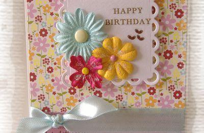 {Happy b-day} {thank you} et {pour le plaisir}