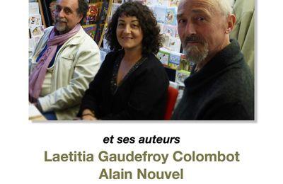 Vendredi 19 mai soirée exceptionnelle avec une éditrice et 3 auteurs !