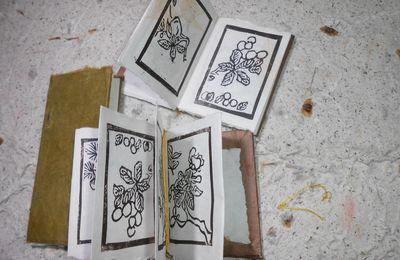 Suite de l'herbier sur papier japon cette fois