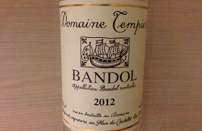 Bandol Rosé 2012, Domaine Tempier