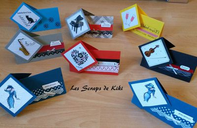 Atelier stampin'up - Sale a bration