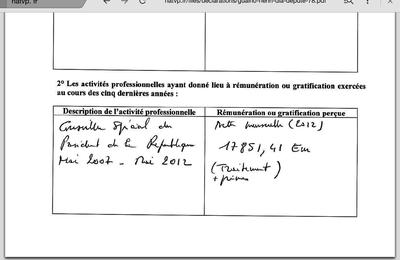 La déclaration d'Henri Guaino en examen