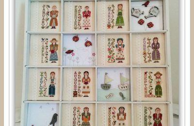 Calendar Girl's - Le casier