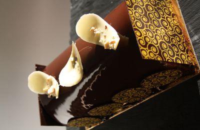 BUCHE POIRE CHOCOLAT (ou charlotte revisitée)