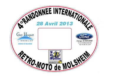 4° Randonnée Internationale Rétro Moto 2013
