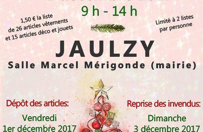 Bourse vêtements, jouets et déco de Noël du 2 décembre 2017