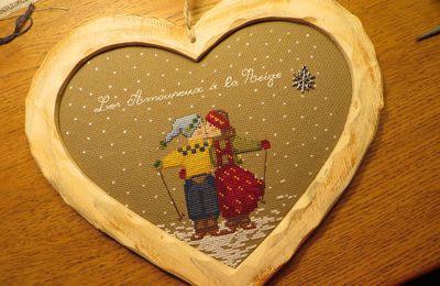 Un Coeur en Bois pour une Broderie
