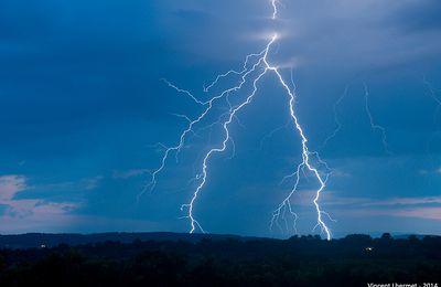 Orages d'évolution diurne du 24-07-2014 dans le Gard