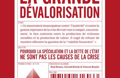 Penser la crise du capitalisme : autour des thèses de « La Grande dévalorisation » de Lohoff et Trenkle [Vidéo avec Paul Braun et Clément Homs]