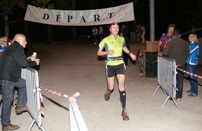 Trail nocturne 24km - Montamisé - 2014