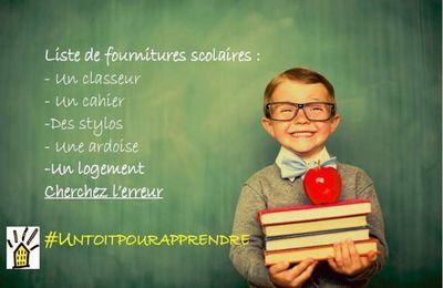 [ DAL Toulouse]  Campagne #Untoitpourapprendre