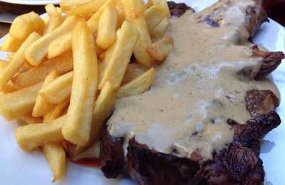 STEAK AU ROQUEFORT
