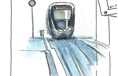 En suivant le tram # carnet 2