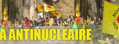Mobilisations antinucléaires les 26 avril et 3 mai