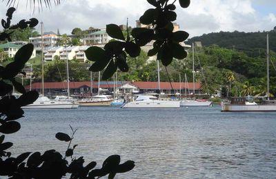 Saint Vincent :Blue lagoon