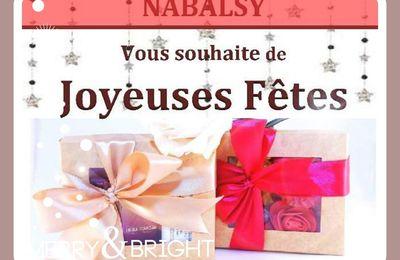 Joyeuses Fêtes avec Nabalsy