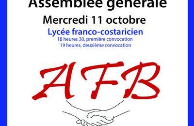 Assemblée de l'Association Française de Bienfaisance au Costa Rica