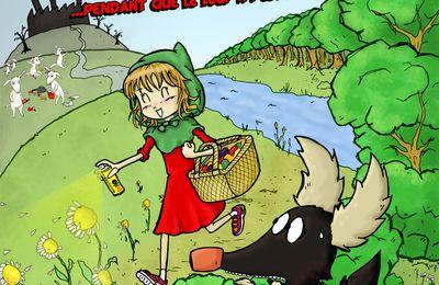 """Affiche spectacle """"Polluons dans les Bois"""""""