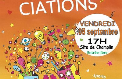Forum des associations à Désertines vendredi 8 septembre