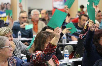 L'Union départementale des syndicats CGT de l'Allier a tenu son 61em congrès à Toulon Sur Allier