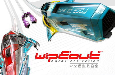 TEST de  WIPEOUT OMEGA COLLECTION (exclusivité PS4): Un superbe remaster pour une sensation de vitesse de fou!