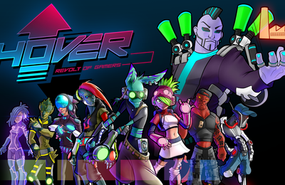 TEST de HOVER REVOLT OF GAMERS (sur PC): la réincarnation de JET SET RADIO (ou presque)