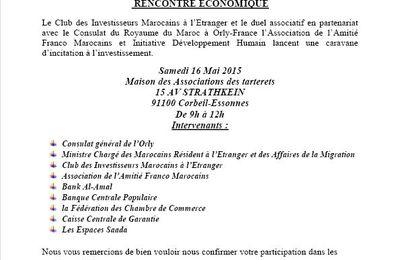 Corbeil-Essonnes: Association initiative Développement Humain lance une caravane d'incitation à l'investissement accompagner par des experts.